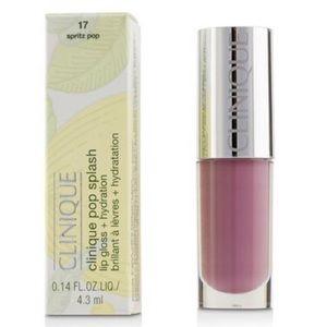 Clinique Pink Pop Splash Lip Gloss Spritz Pop 17